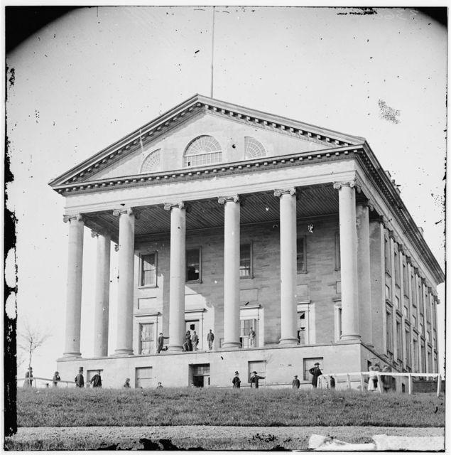 [Richmond, Va. Front view of Capitol]