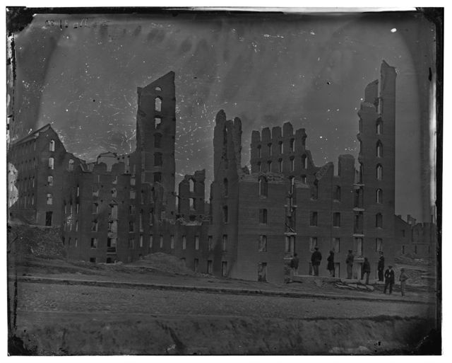 [Richmond, Va. Ruins of the Gallego Flour Mill; a later view]