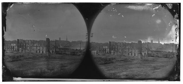 Richmond, Virginia. Burnt district