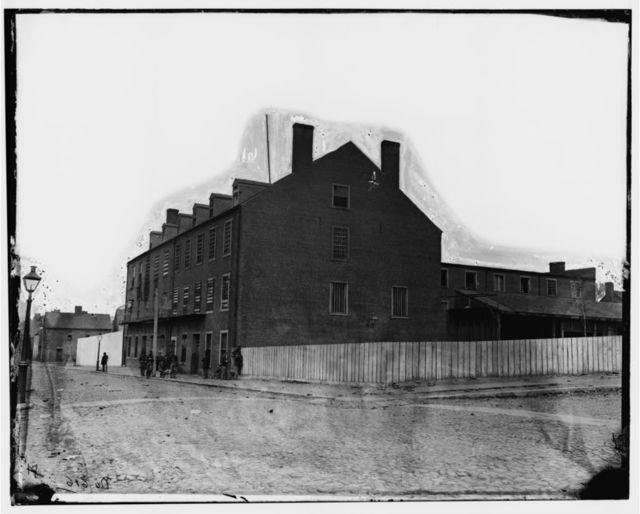 """Richmond, Virginia. """"Castle Thunder"""" (Carey Street)"""
