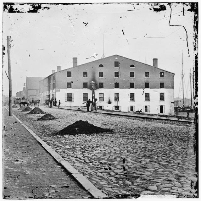 Richmond, Virginia. Libby Prison