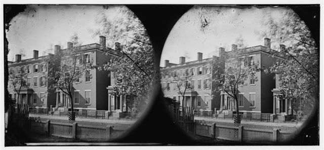 Richmond, Virginia. Residence of Gen. Robert E. Lee. (707 East Franklin Street)