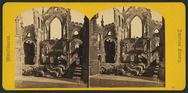 Ruins of Cathedral St. John and St. Finbar, no. 611 / George Stacy.
