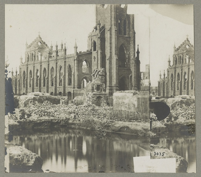 Ruins of Catholic Cathedral, Charleston, S.C., April, 1865