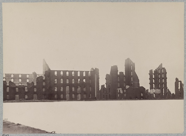 Ruins of Gallego Flour Mills, Richmond, Va., April, 1865