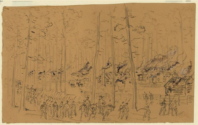 [Sherman's march through South Carolina - Burning of McPhersonville]