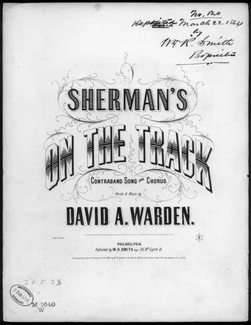 Sherman's on de track