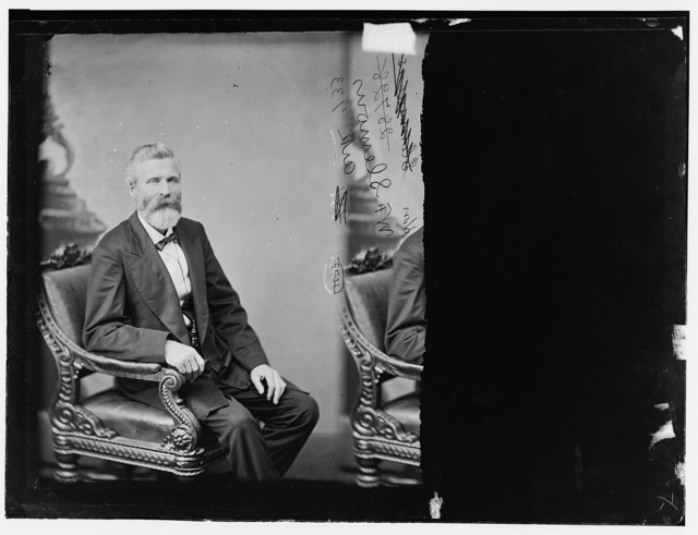 Slemons, Hon. Wm. Ferguson, Rep of Ark. Colonel in Price's Cavalry
