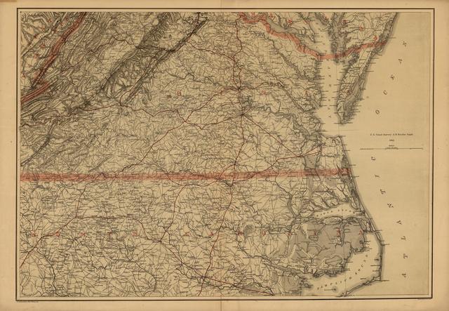 [Southern Virginia and northern North Carolina]
