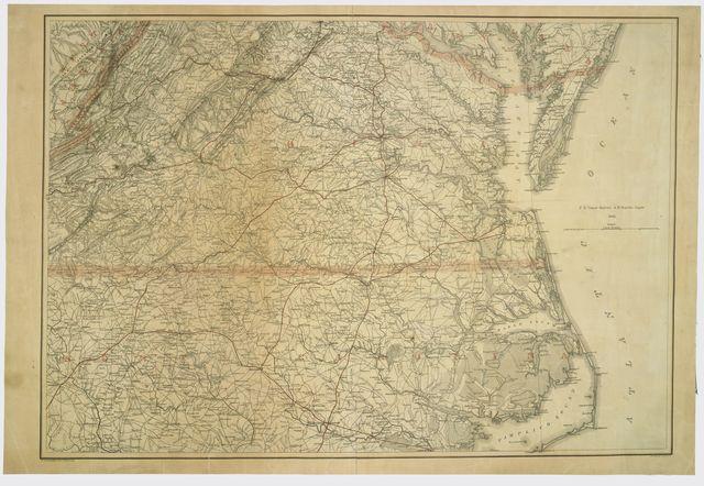 [Southern Virginia and northern North Carolina] /