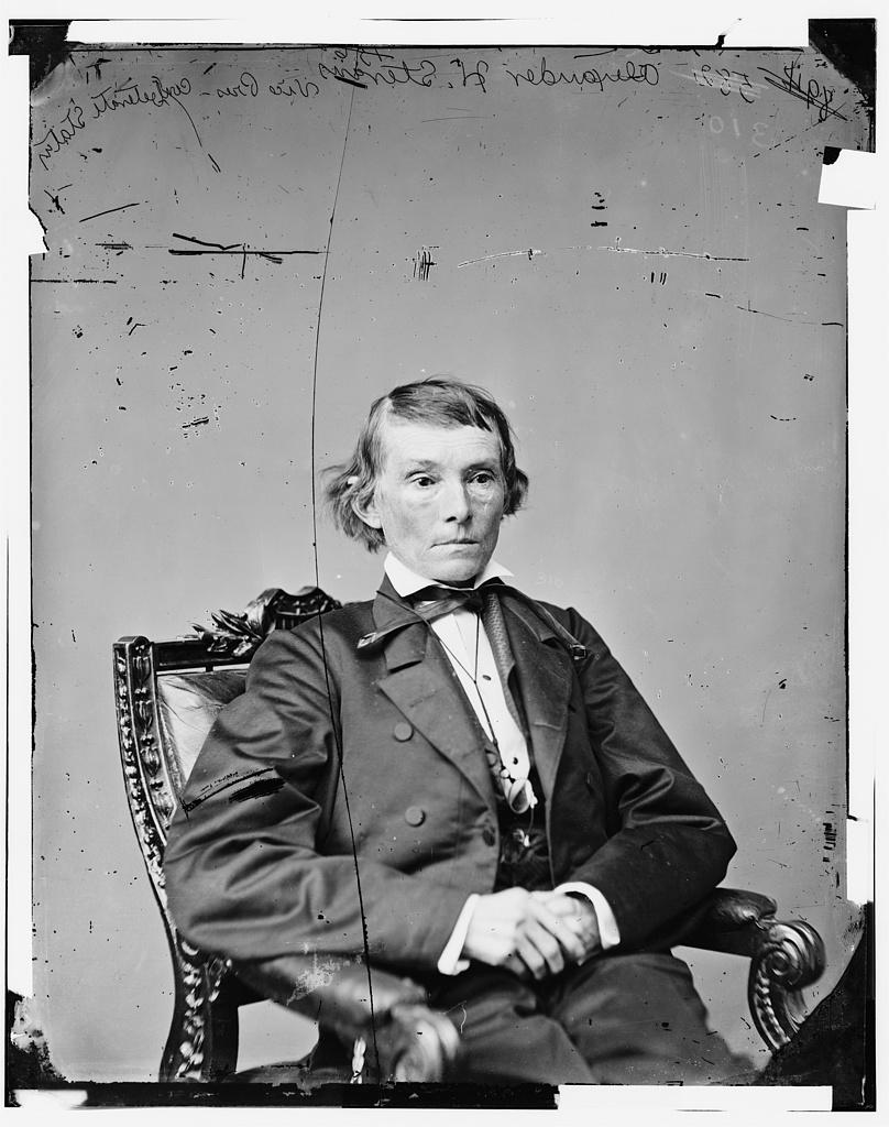 Stephens, Hon. Alex H. of Ga. Vice Pres. of Confederacy