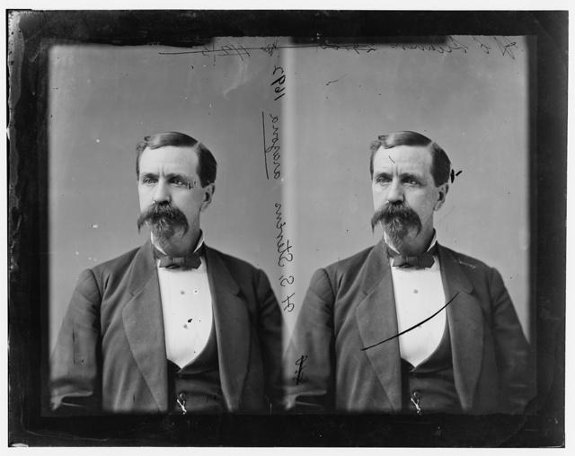 Stevens, Hon. Hiram Sanford Delegate from Territory of Arizona
