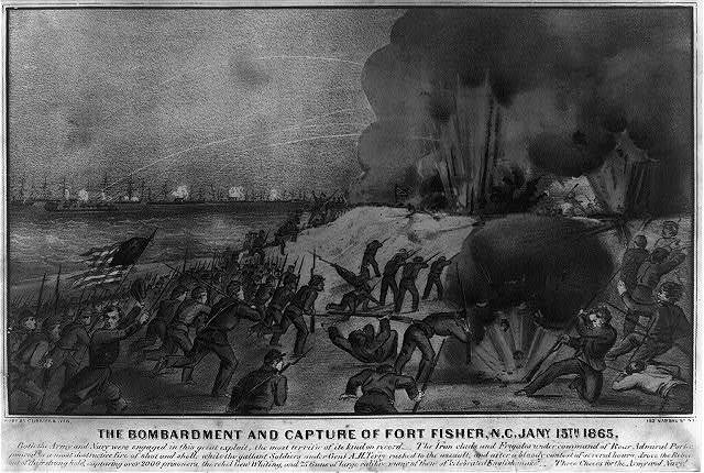 The bombardment and capture of Fort Fisher, N.C. Jany. 15th 1865