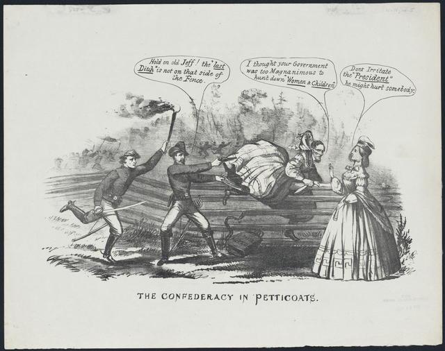 The Confederacy in petticoats.