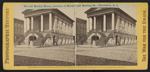 The old Market House, junction of Market and Meeting St., Charleston, S.C.