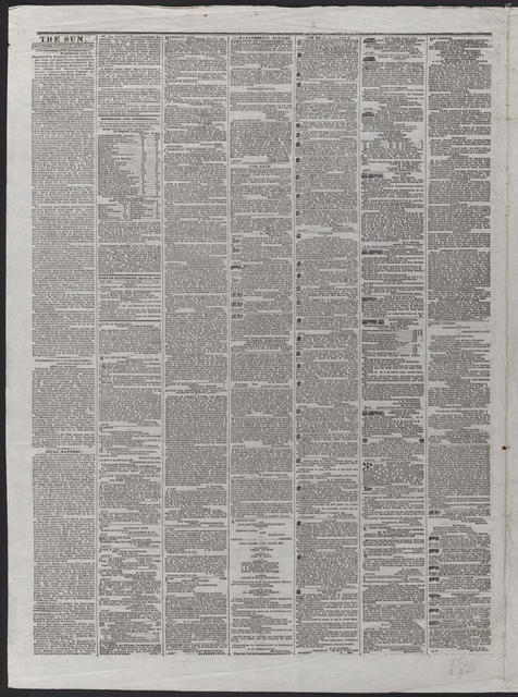 The Sun, [newspaper]. April 22nd, 1865.