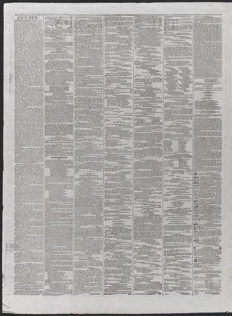 The Sun, [newspaper]. April 24th, 1865.