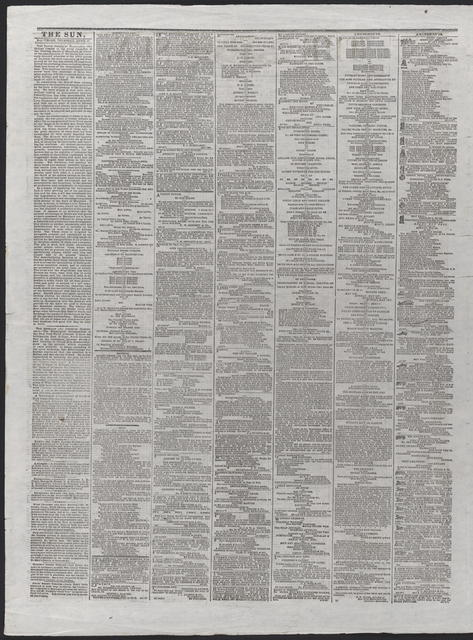 The Sun, [newspaper]. April 27th, 1865.