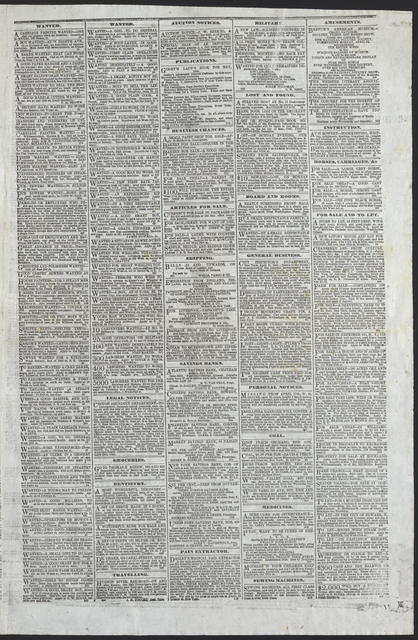 The Sun, [newspaper]. New York, April 19, 1865.