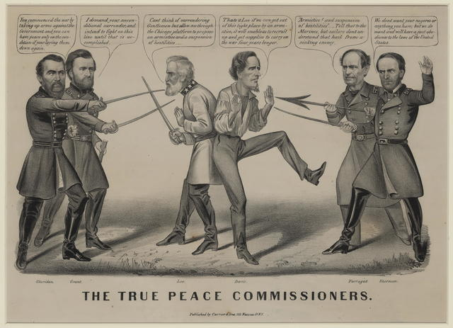 The true peace commissioners.