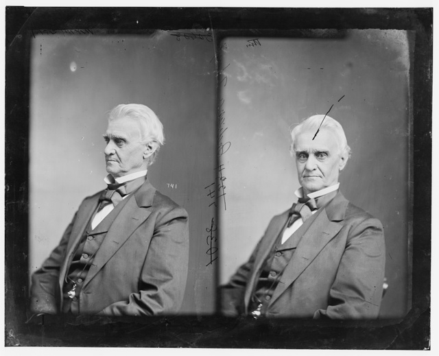 Thompson, Hon. Richard Wigginton of Indiana. Commander of Camp Thompson, Ind. Provost Marshall 1861-1865. Appointed by Lincoln, Collector of Internal Revenue 7th District of Indiana