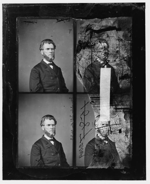 Tipton, Hon. Thomas Weston of NEB. Sen. Chaplain of the 1st Nebraska Vol. Inf. 1861-65
