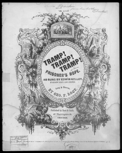 Tramp! tramp! tramp!, or The Prisoner's hope