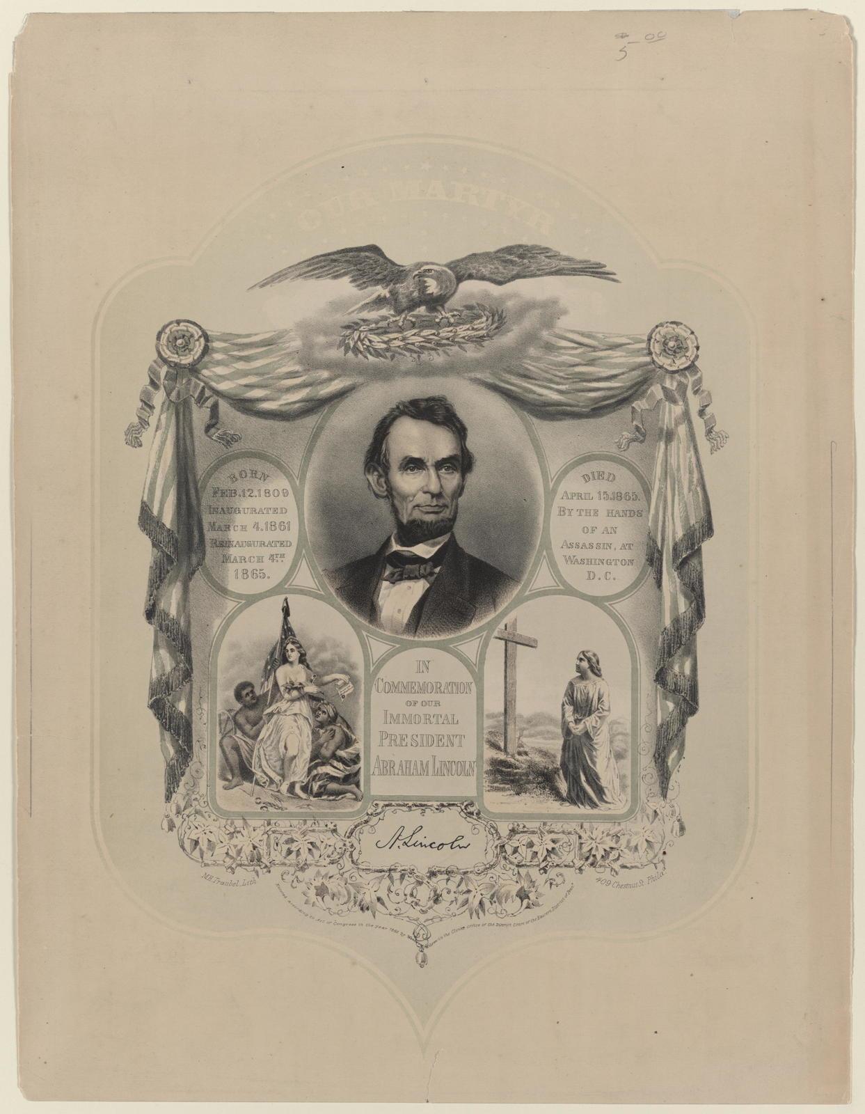 [Traubel portrait of Lincoln.]