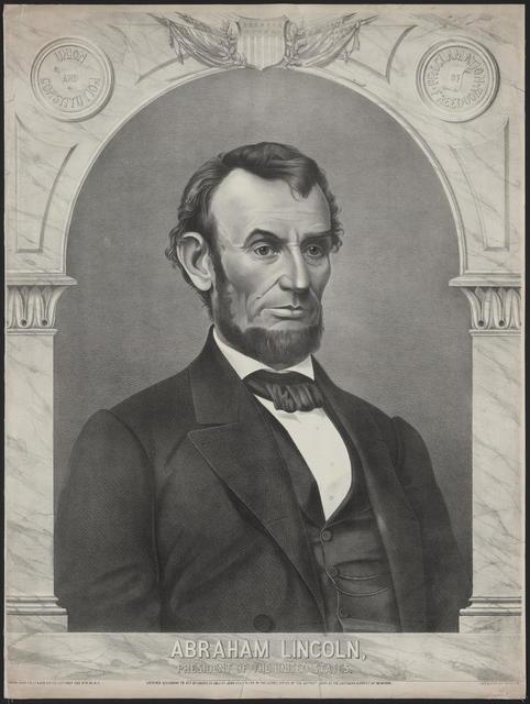 [Valois portrait of Lincoln.]