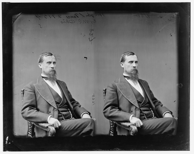 Vance, Hon. Rep. John Luther of Ohio Lt. Col. of the 4th West Va. Vol. Inf.