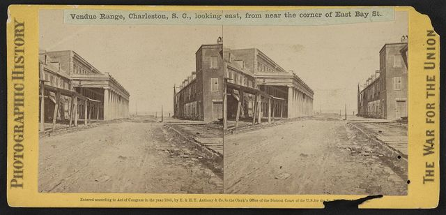 Vendue Range, Charleston, S.C., looking east, from near the corner of East Bay St.