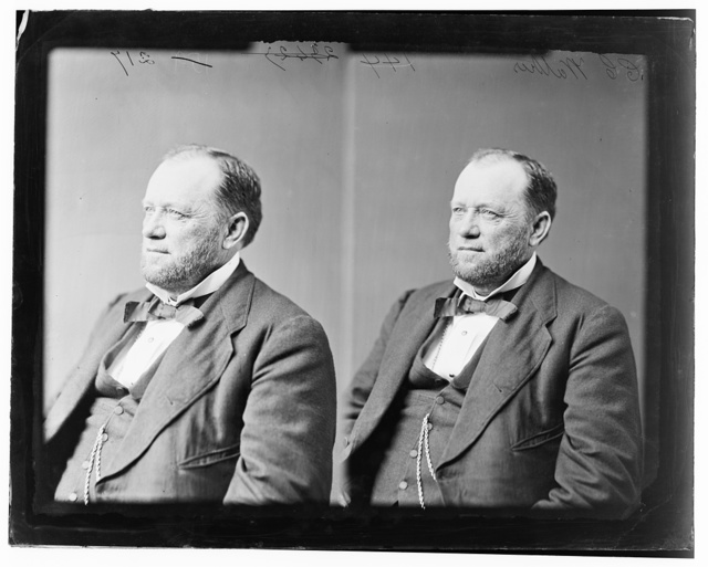 Walker, Hon. Charles Christopher B. of N.Y. Delegate to Democratic Nat. Convention at Charleston 1860