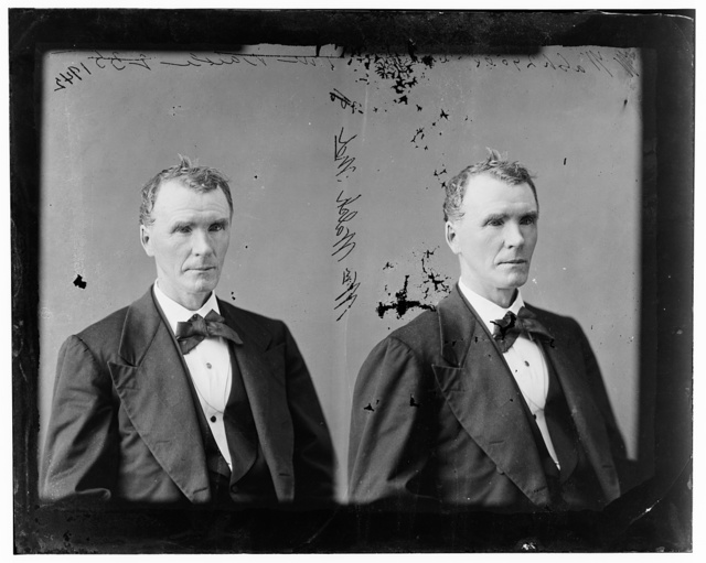 Walsh, Hon. William of Md. Presidential Elector on Democratic ticket of Breckinridge and Love 1860