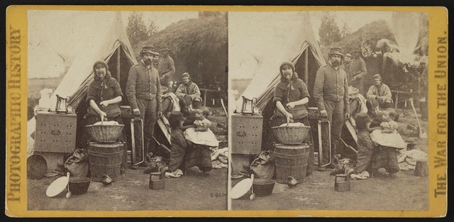 War views. No. 2404 or 2406, Tent life of the 31st Pennsylvania Regiment