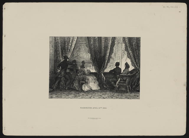 Washington, April 14th, 1865. [MacClure, MacDonald & MacGregor depiction of Lincoln's assassination.]