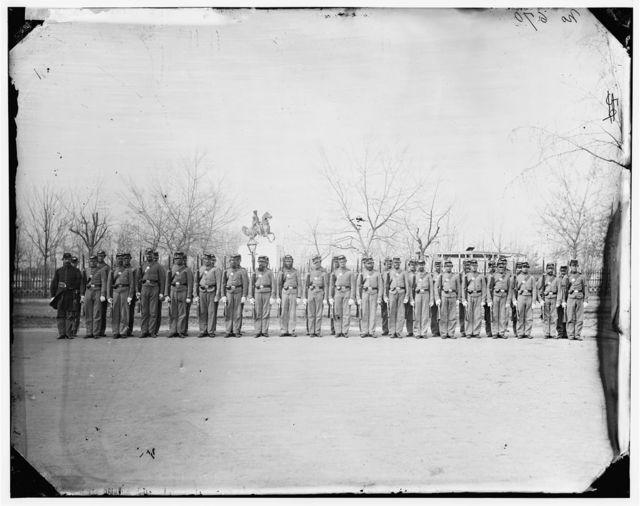 Washington, District of Columbia. Company A, 10th U.S. Veteran Reserve Corps