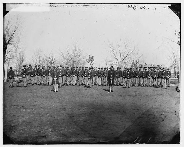 Washington, District of Columbia. Company C, 10th U.S. Veteran Reserve Corps, at Washington Circle