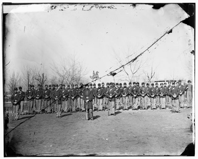 Washington, District of Columbia. Company E, 9th U.S. Veteran Reserve Corps