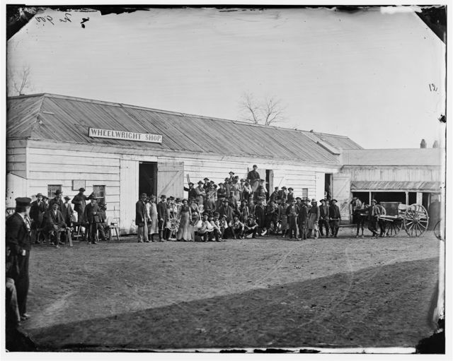 Washington, District of Columbia. Government repair shops; Wheelwright shop