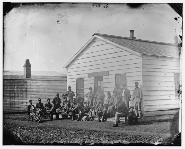 Washington, District of Columbia. Officers of 9th or 10th U.S. Veteran Reserve Corps.