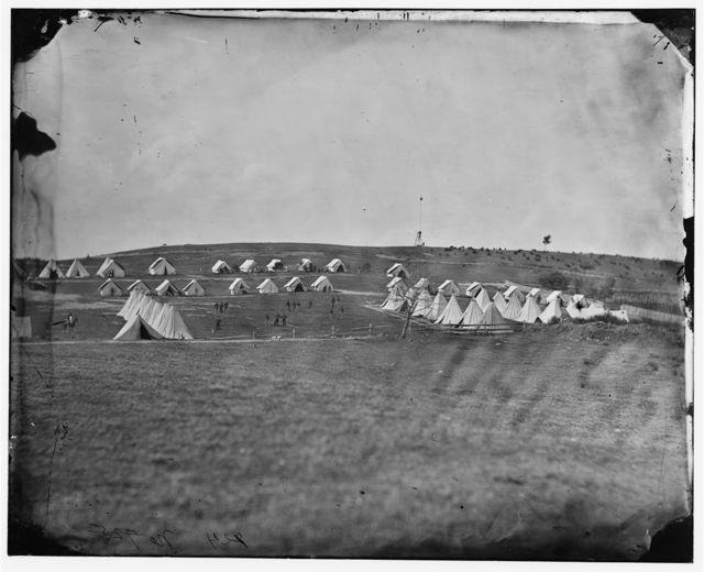 Washington, District of Columbia. Signal Corps camp near Georgetown
