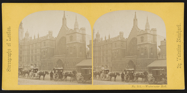 Westminster Hall / By Valentine Blanchard.