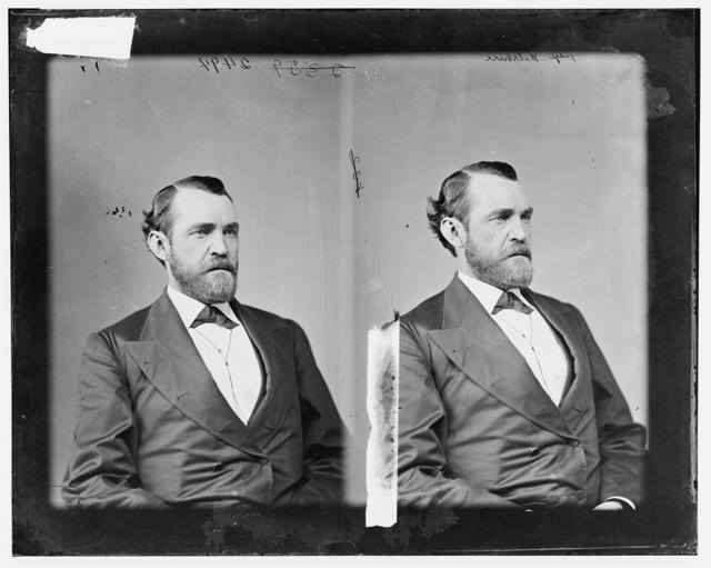 Wilshire, Hon. Wm. Wallace, Rep of Arkansas, Major in 126 Ill. Inf USA