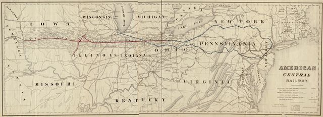 American Central Railway, 1866.