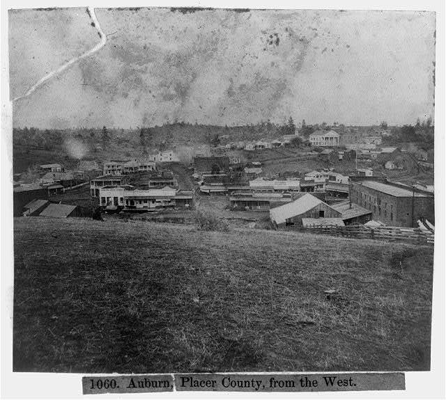 Auburn, Placer County, from the West