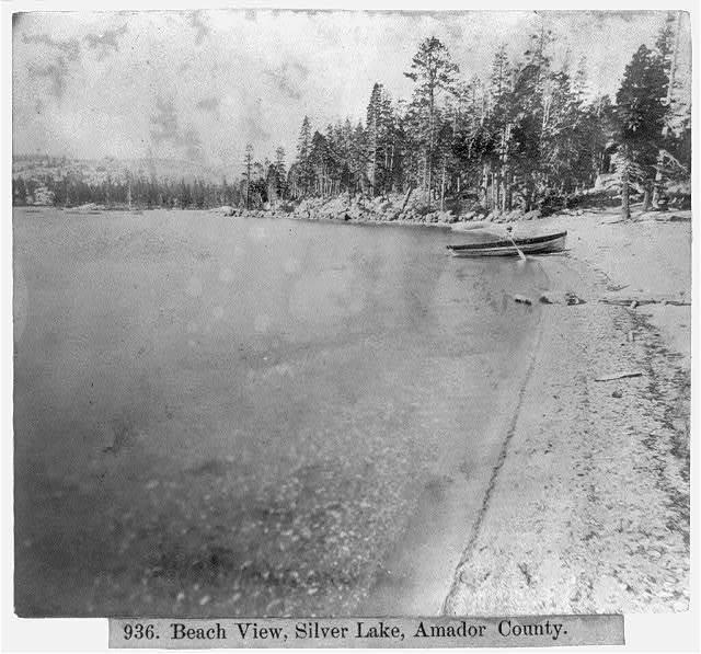 Beach View, Silver Lake, Amador County