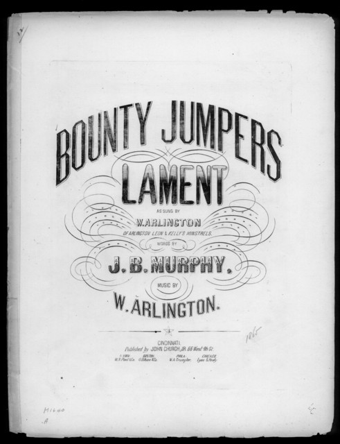 Bounty jumpers lament