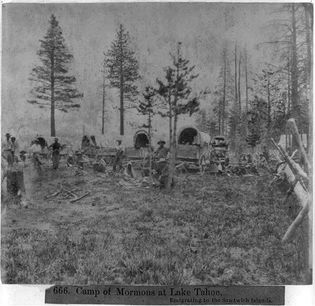 Camp of the Mormons at Lake Tahoe