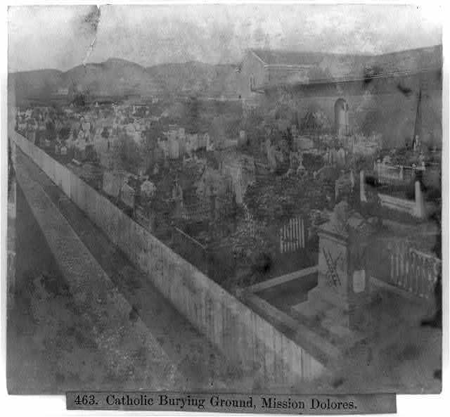 Catholic Burying Ground, Mission Dolores
