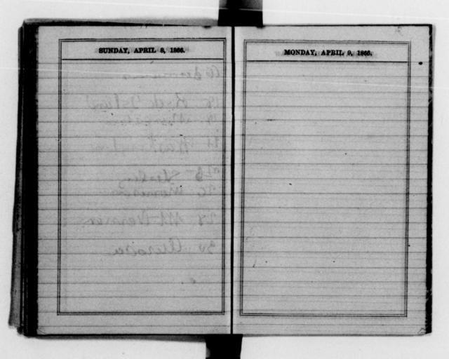 Clara Barton Papers: Diaries and Journals: 1866, Jan.-Dec.